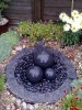 Granite Trio , Pebble Pool & Cobbles Water Feature
