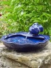 Ceramic Fish Water Feature by Smart Solar 1180021