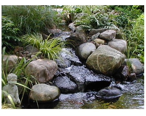 Designing your own water feature